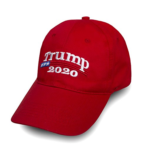Make America Great Again Donald Trump USA Cap Adjustable Baseball Hat (Trump 2020) by Besti