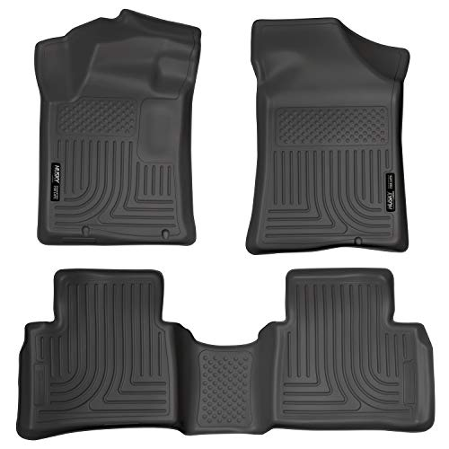 Husky Liners Fits 2013-18 Nissan Altima – Built November 2012 or Newer Weatherbeater Front & 2nd Seat Floor Mats,Black…