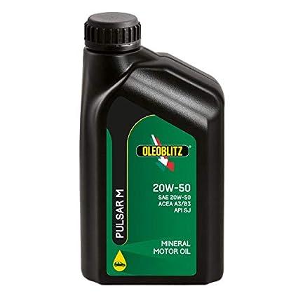 5L Aceite de Motor Mineral para Coche Gasolina y Diesel SAE 20 W50 ...