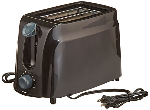 Brentwood Appliances Ts 260b 2 Slice Cool Touch Toaster Black Import It All