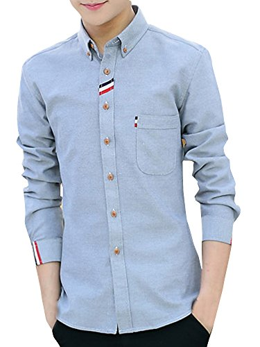 いまボーナス酔っ払い(ネルロッソ) NERLosso シャツ メンズ 長袖 yシャツ ワイシャツ メンズシャツ スリム 形態安定 リネン ロングスリーブ ボタンダウン 正規品 cmz24159