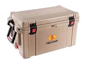 The Best Pelican ProGear Elite Ice Chest Cooler, 65 Quart, Tan