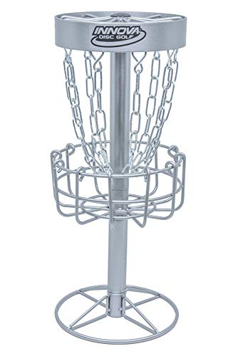 Innova Desktop Discatcher Mini Disc Golf Basket - Silver