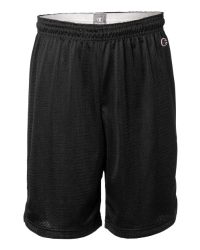 Champion Men`s Polyester Mesh Short Black ()