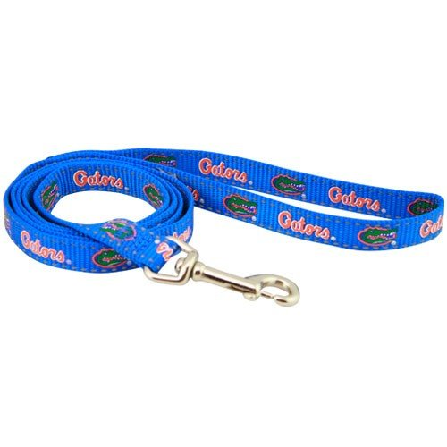 (Football Fanatics NCAA Florida Gators 4' Royal Blue Medium Dog Leash)