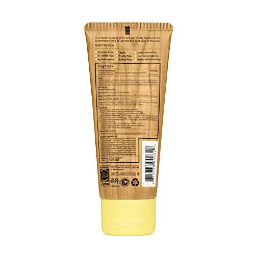 Sun Bum Original SPF 50 Sunscreen Lotion | Vegan and Reef Friendly (Octinoxate & Oxybenzone Free) Broad Spectrum Moisturizing UVA/UVB Sunscreen with Vitamin E | 3 oz