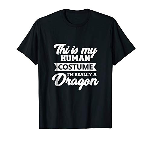 I'm Really A Dragon: Lazy Costume + Funny Halloween -