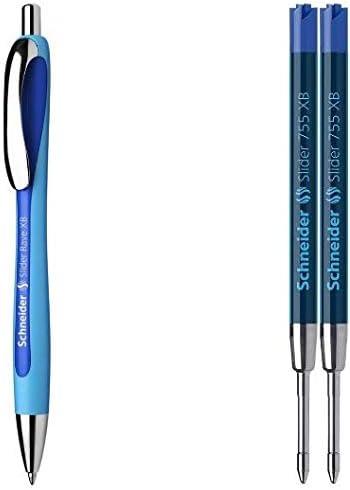 con tecnolog/ía Viscoglide Bol/ígrafos color azul Schneider Slider Rave