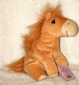 Brown Horse by Precious Moments Tender Tails