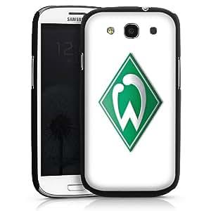 Carcasa Design Funda para Samsung Galaxy S3 i9300 / LTE i9305 HardCase black - Werder Bremen weiß