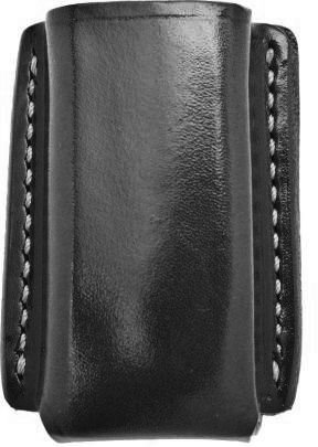 Galco Concealable Magazine Case for 9mm, .40, .357 Sig Staggered Metal Magazines (Black, Ambi) (Double Galco Magazine Case)
