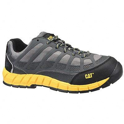 Caterpiller Athletic Style Work Shoes 9-1/2 W Gry PR