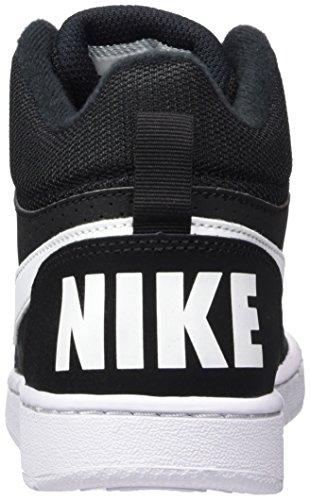 004 Unisexes Noir Enfants Mid Court Basket De Nike Noir Chaussures Cqxzueai-035025-7715404