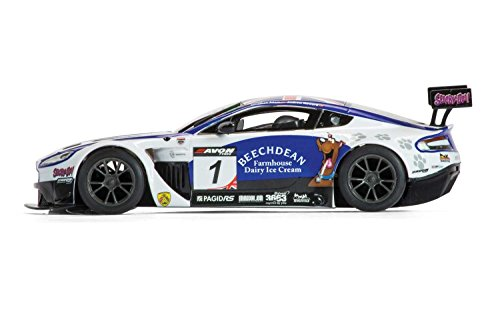 Scalextric C3623 Aston Martin Vantage GT3 Beechdean Slot Car (1:32 Scale) (Cars Racing Scalextric)