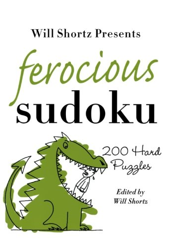 Will Shortz Presents Ferocious Sudoku product image