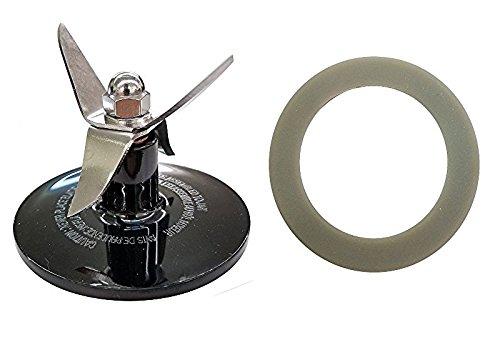 Blender Blade Assembly for Cuisinart CBT-500, SB5600, CB600, Black + (Misc Spare Parts)