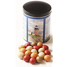 Scott's Cakes Fall Harvest Gourmet Chocolate Malt Balls in a Lighthouse Can