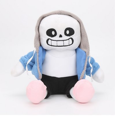 VANVENE Pillow Undertale Sans Plush Stuffed Doll 12'' Toy Hugger Game Cosplay Cushion Gift New