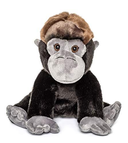 Gorilla Stuffed Animal (Wildlife Tree 12 Inch Stuffed Gorilla Floppy Plush Animal Kingdom)