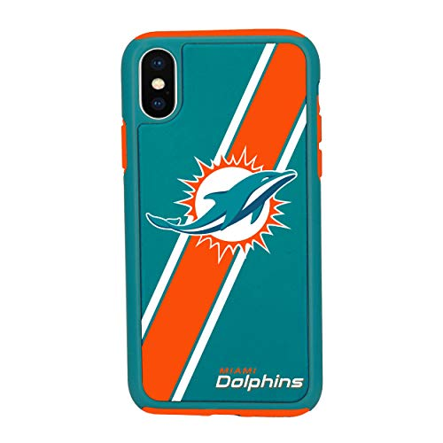 "iPhone XR (6.1"") Impact Series Dual Layered Protective Case for NFL Miami Dolphins"