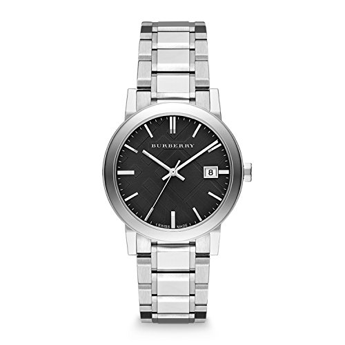 Burberry Men's BU9001 Large Check Stainless Steel Bracelet - Burberry Stores Usa