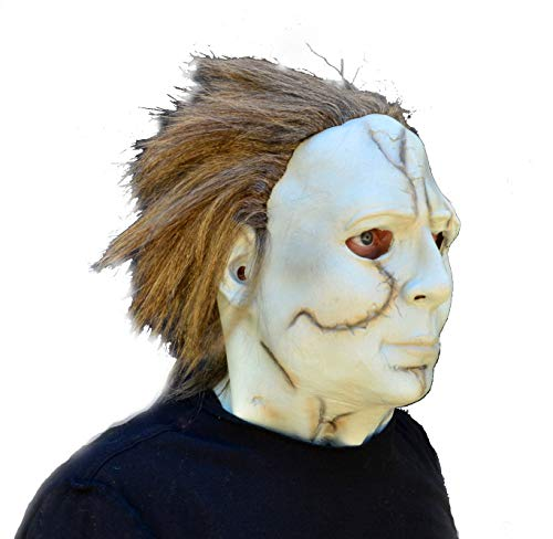 XML Acid Tactical Scary Creepy Halloween Movie Latex Mask - Michael Myers]()