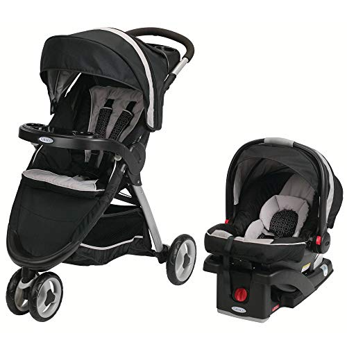 FastAction Fold Sport Click Connect Travel System with Blanket (Pierce)
