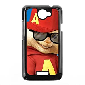 Alvin and the Chipmunks HTC One X Cell Phone Case Black SUJ8443466