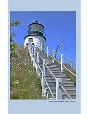 Coastal Lighthouse 2016 Weekly Calendar: 2016 week by week calendar with a cover photo of a coastal lighthouse