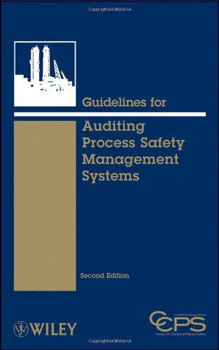 [PDF] Guidelines for Auditing Process Safety Management Systems, 2nd Edition Free Download | Publisher : Wiley-AIChE | Category : Business | ISBN 10 : 0470282355 | ISBN 13 : 9780470282359
