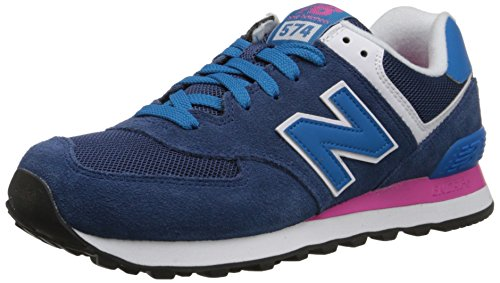 New Sneaker Donna Nbwl574mon bleu Blu pink moy Balance Blue tTEwrqxT