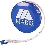 Mabis Retractable Tape Measure, Compact Flexibile Tape Measure, Blue