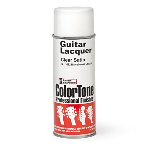 (ColorTone Aerosol Guitar Lacquer, Clear Satin)
