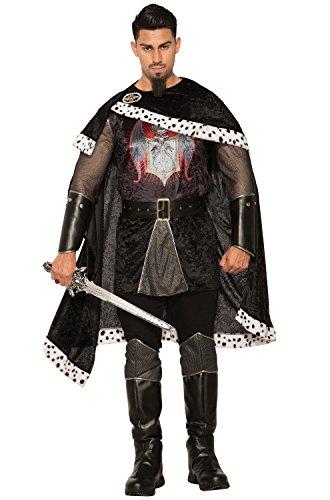 Forum Novelties Co-Dark Royalty-Evil King-Std, Black