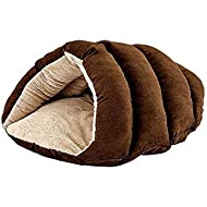 """SPOT Ethical Pets Sleep Zone Cuddle Cave - 22"""" Chocolate - Pet Bed for Cats and Small Dogs - Attractive, Durable, Comfortable, Washable, Cuddle Cave Pet Bed, 22x17"""