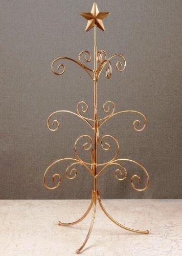 TRIPAR 34209 22.13 Inch Metal Mini Regent Tree (Stand Display Tree Ornament)