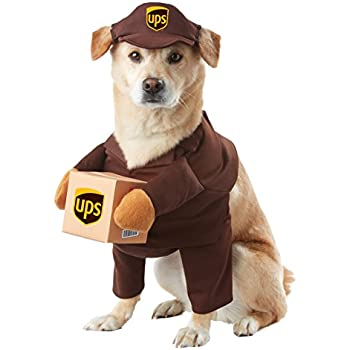 Amazon.com : California Costumes UPS Pal Pet Halloween Costume, X ...