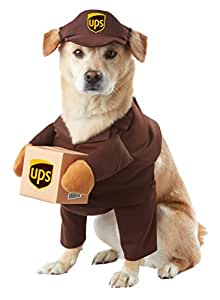 California Costume Collections PET20151 UPS Pal Dog Costume, Large