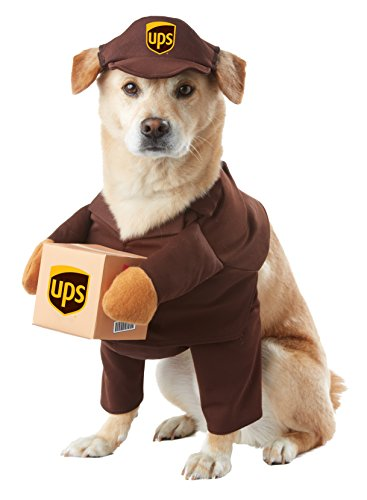 California Costume Collections PET20151 UPS Pal Dog Costume, Medium ()