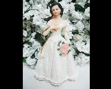 174f846dd96 Amazon.com  Victorian Quinceañera Cake Topper Party Favor Doll ...