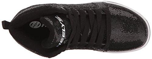 Disco Kids Shoes Black Heelys Glitter Uptown Running dpqwxFAOXx