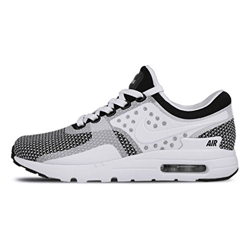 f5ccc0af38fd Nike Air Max Zero Essential Black White Men s Running Training Shoes Size  10.5 - Buy Online in Oman.