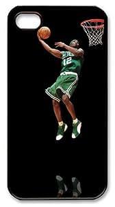 LZHCASE Personalized Protective Case for iPhone 4/4S - Ricky Davis, NBA Boston Celtics