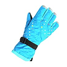 Value Sport Women's Ski Gloves Warm Waterproof Winter Outdoor Snow Snowboard Athletic Gloves with Thinsulate