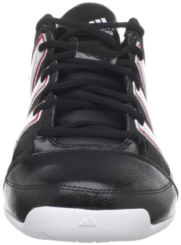 Adidas Mens Commandant Lite Td Bas Basket-ball Noir / Running Blanc / Université Rouge