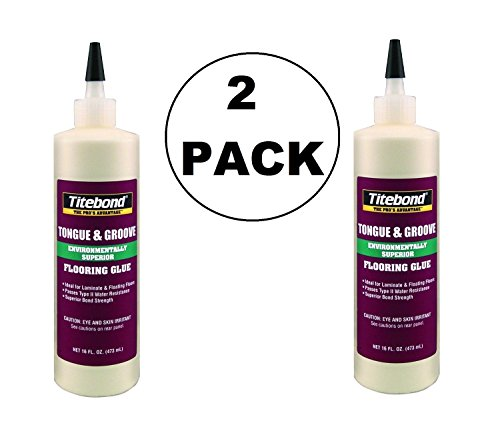 (2 PACK Titebond 2104 Tongue and Groove Glue Bottle, 16 oz )