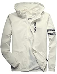 Amazon.com: White - Windbreakers / Lightweight Jackets: Clothing ...