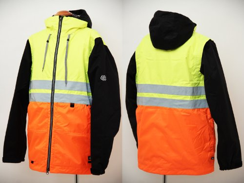 686 X Dickies Safety Insulated Jacket - Men's Safety Yellow, XL
