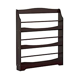 Guidecraft Expressions Bookrack, Espresso, One Size