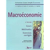 Macroéconomie : Cours, Méthodes, Exercices corrigés